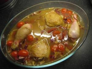 Chicken Prawn Paella